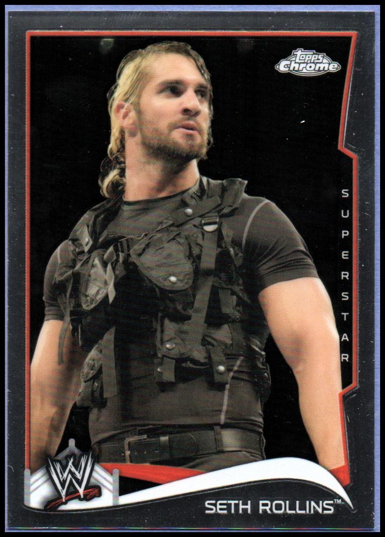 2014 Topps Chrome WWE #46 Seth Rollins