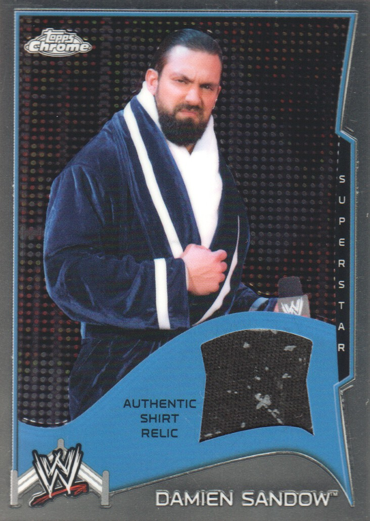 2014 Topps Chrome WWE Swatch Relics #DS Damien Sandow
