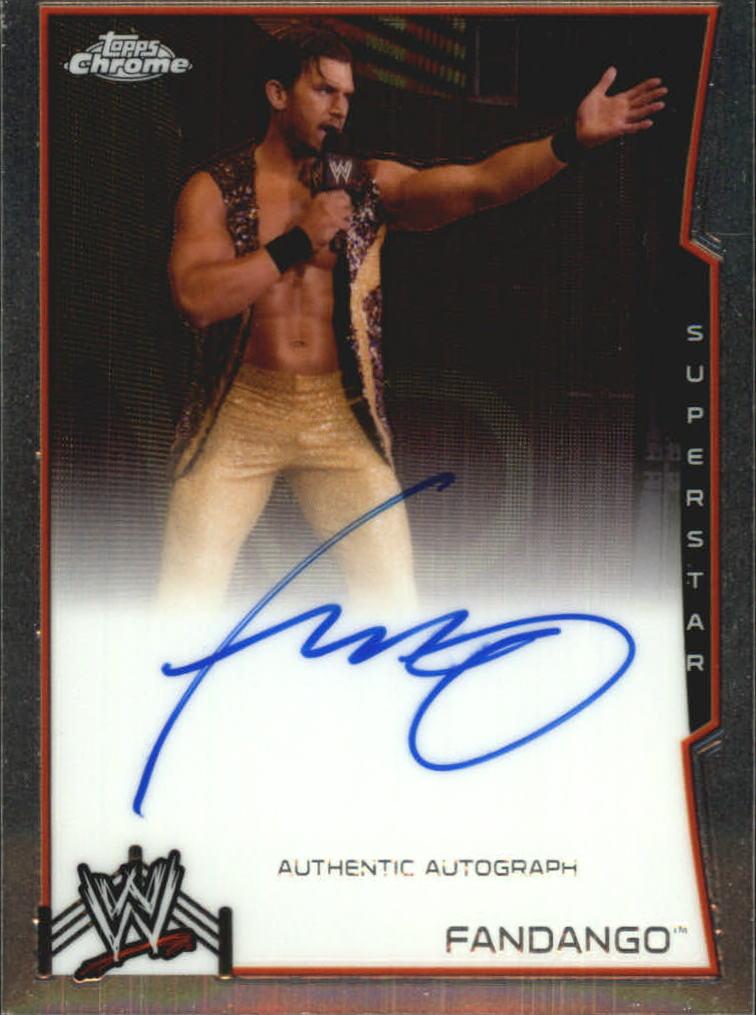 2014 Topps Chrome WWE Autographs #FAN Fandango