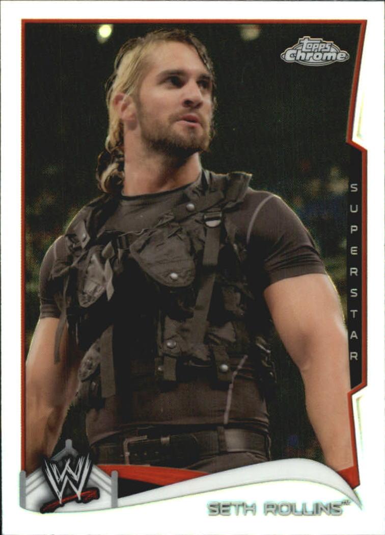 2014 Topps Chrome WWE Refractors #46 Seth Rollins