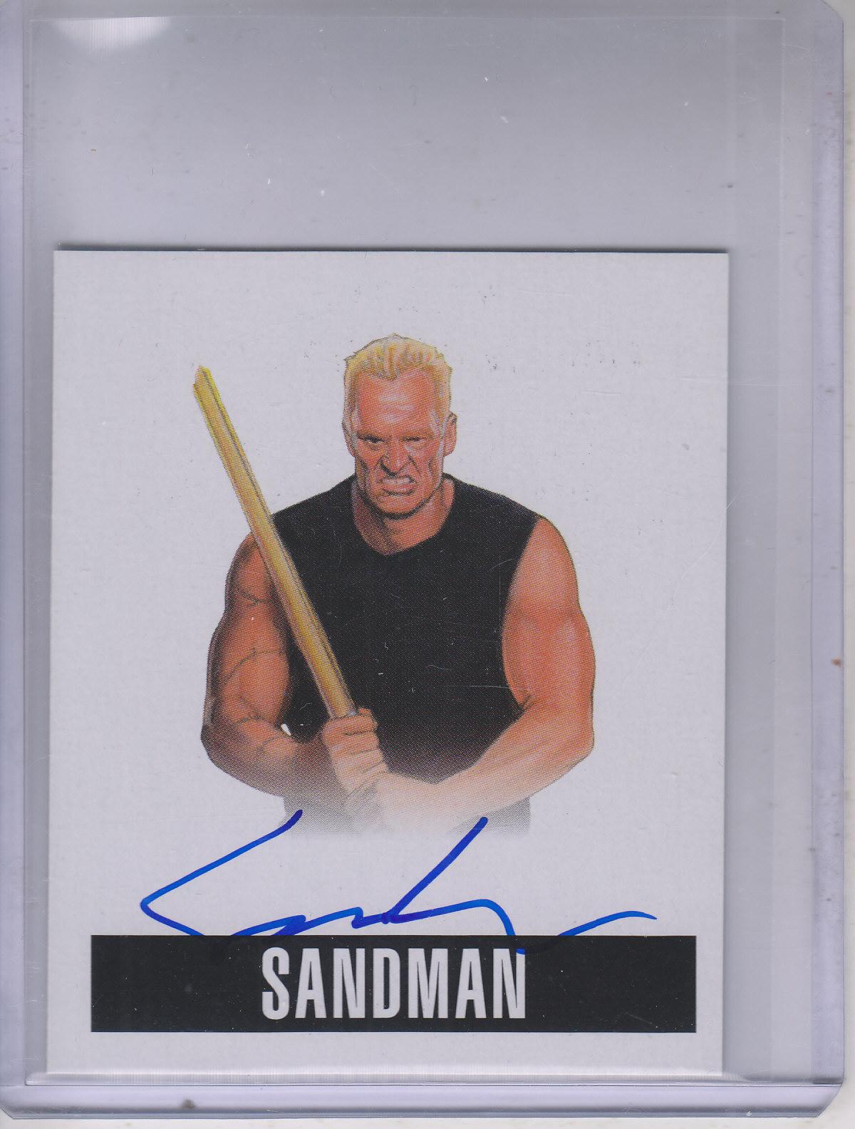 2014 Leaf Originals Wrestling #AS3 Sandman