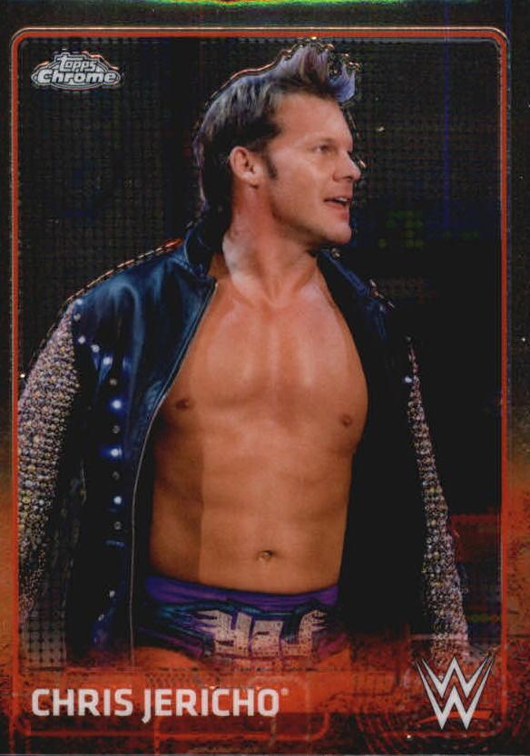 2015 Topps Chrome WWE #15 Chris Jericho