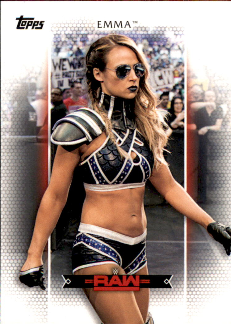 Emma #R-18 WWE Womens Division 2017 Topps Trading Card