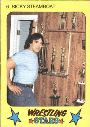 1986 Monty Gum Wrestling #6 Ricky The Dragon Steamboat