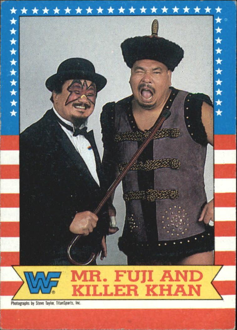 Khan and fuji