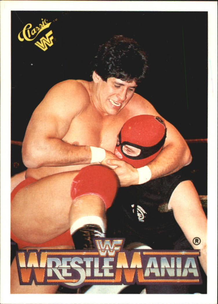 1990 Classic The History of Wrestlemania WWF #2 Tito Santana/Masked Executioner