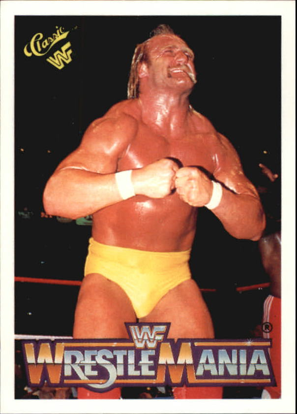1990 Classic The History of Wrestlemania WWF #3 Hulk Hogan