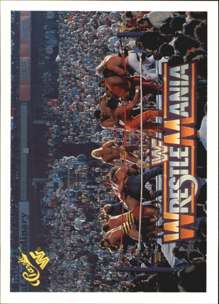 1990 Classic The History of Wrestlemania WWF #5 Battle Royal