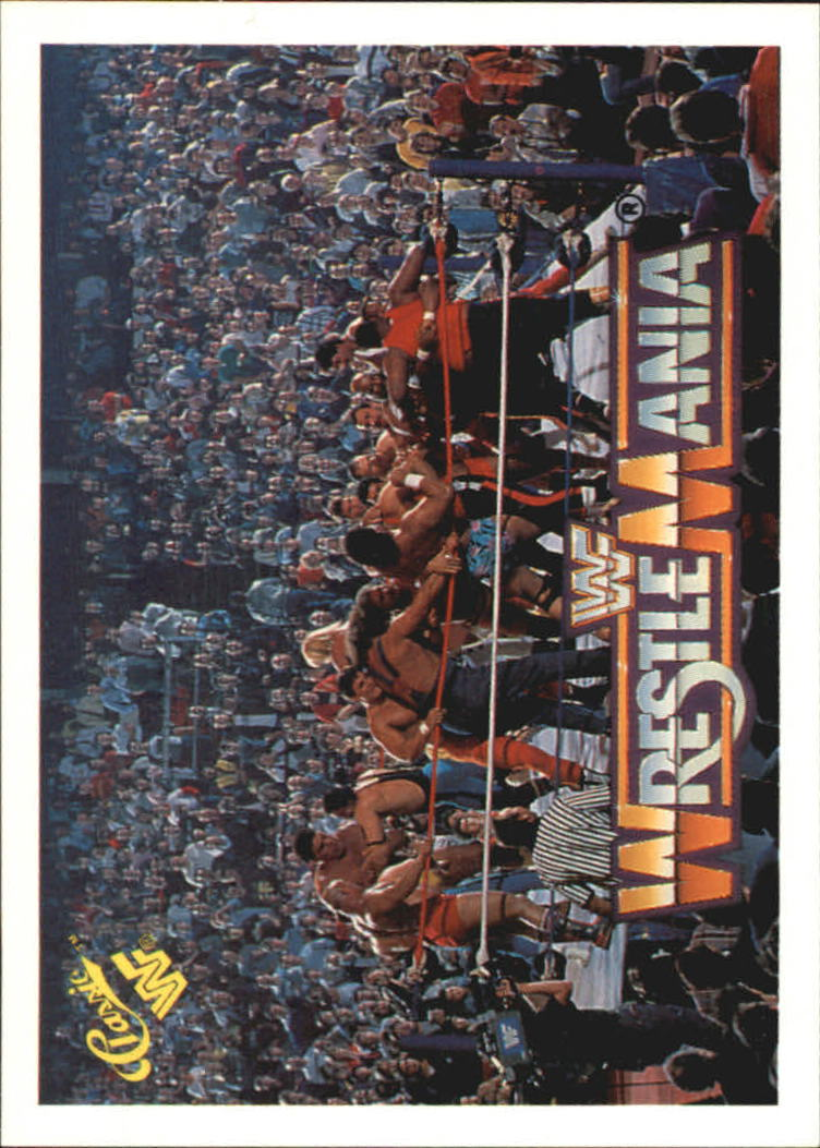 1990 Classic The History of Wrestlemania WWF #6 Battle Royal