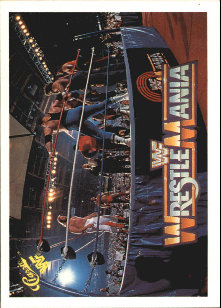 1990 Classic The History of Wrestlemania WWF #7 Battle Royal