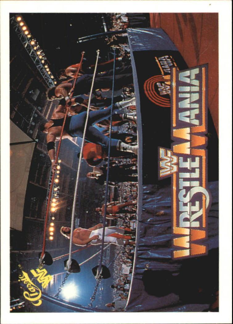 1990 Classic The History of Wrestlemania WWF #7 Battle Royal