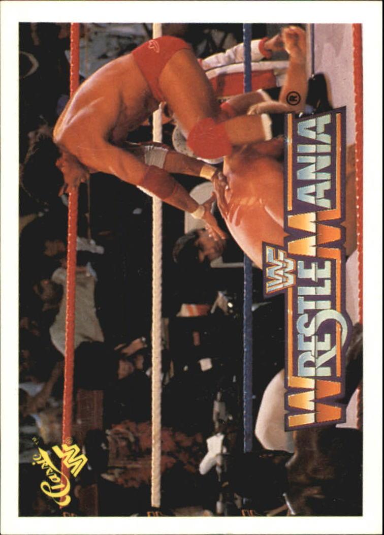 1990 Classic The History of Wrestlemania WWF #9 Tito Santana/Junk Yard Dog/Funk Brothers