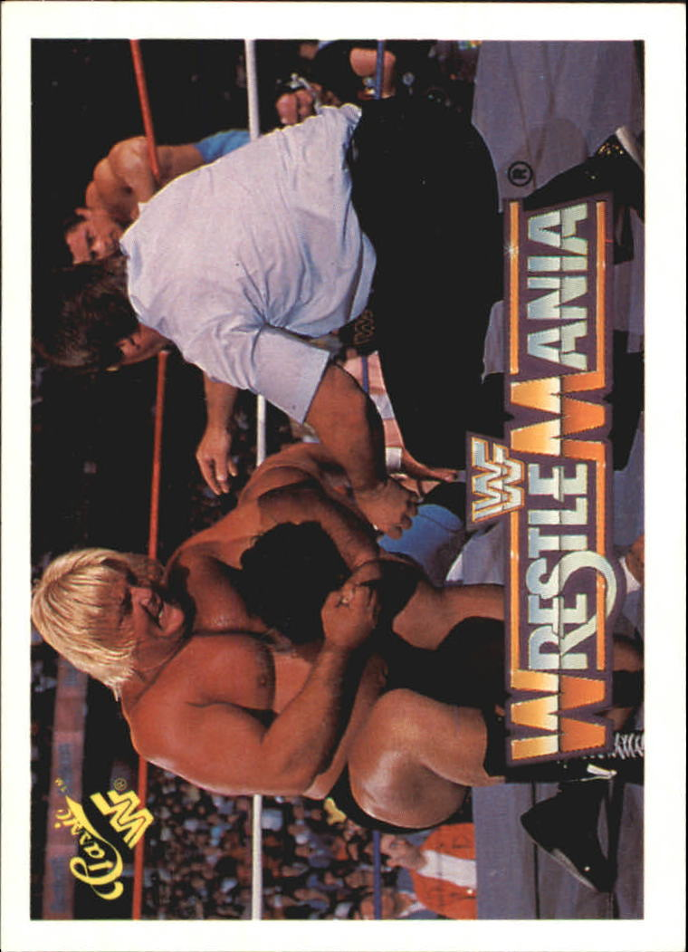 1990 Classic The History of Wrestlemania WWF #10 Greg The Hammer Valentine