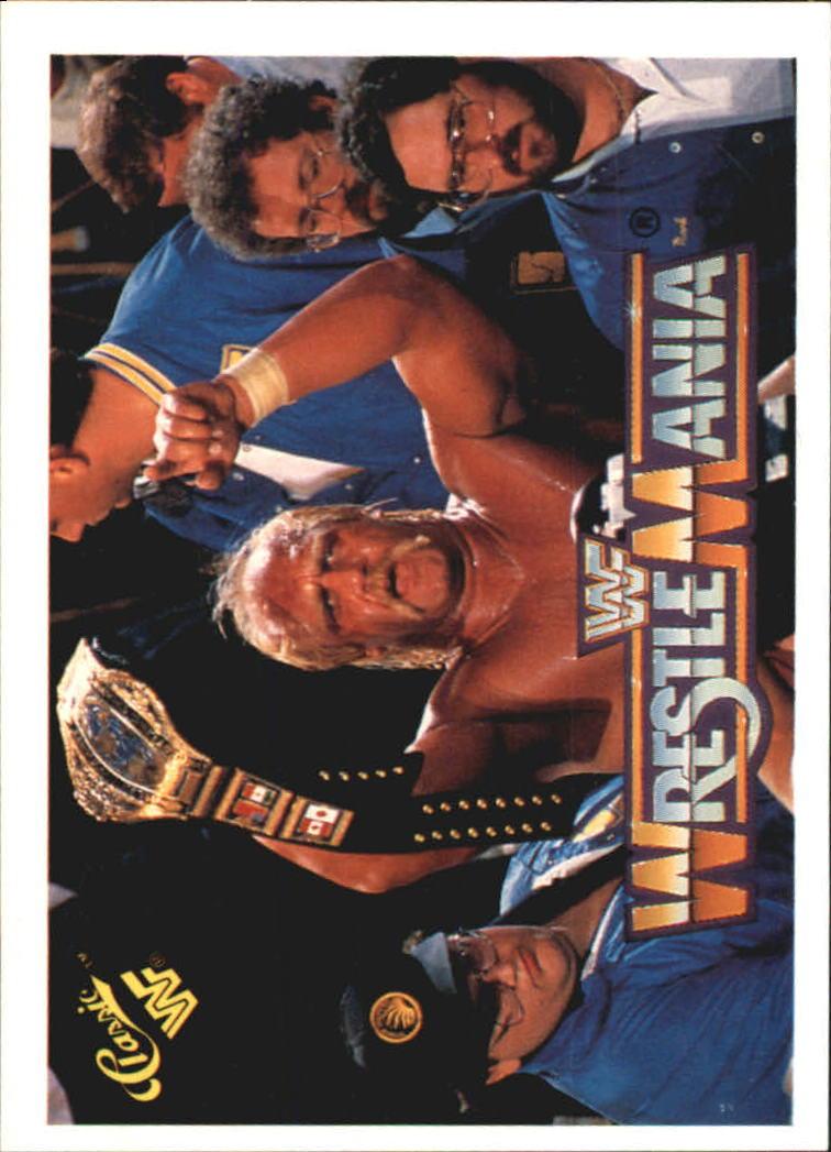 1990 Classic The History of Wrestlemania WWF #11 Hulk Hogan/King Kong Bundy