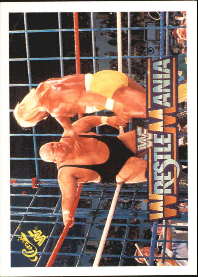 1990 Classic The History of Wrestlemania WWF #15 Hulk Hogan/King Kong Bundy