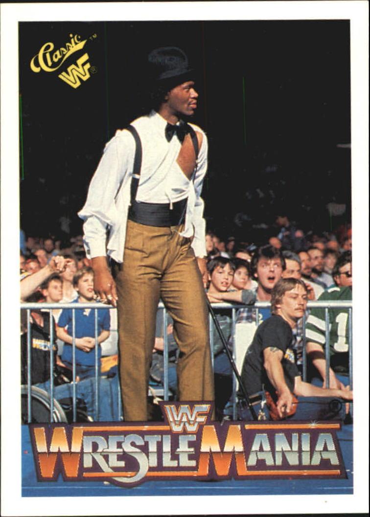 1990 Classic The History of Wrestlemania WWF #17 Slick/Tito Santana