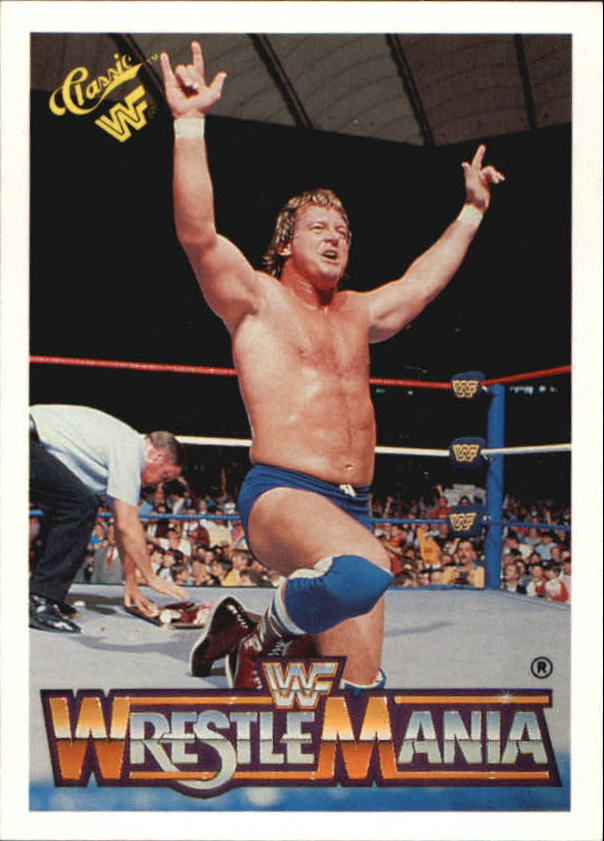 1990 Classic The History of Wrestlemania WWF #18 Rowdy Roddy Piper/Adrian Adonis