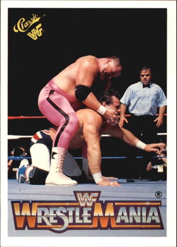 1990 Classic The History of Wrestlemania WWF #20 Jim Neidhart/Dynamite Kid