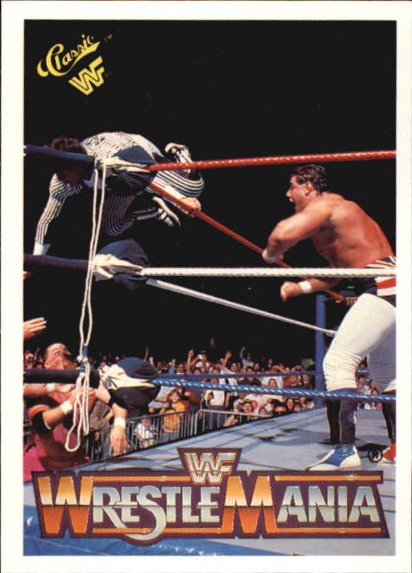1990 Classic The History of Wrestlemania WWF #21 Davey Boy Smith/Danny Davis