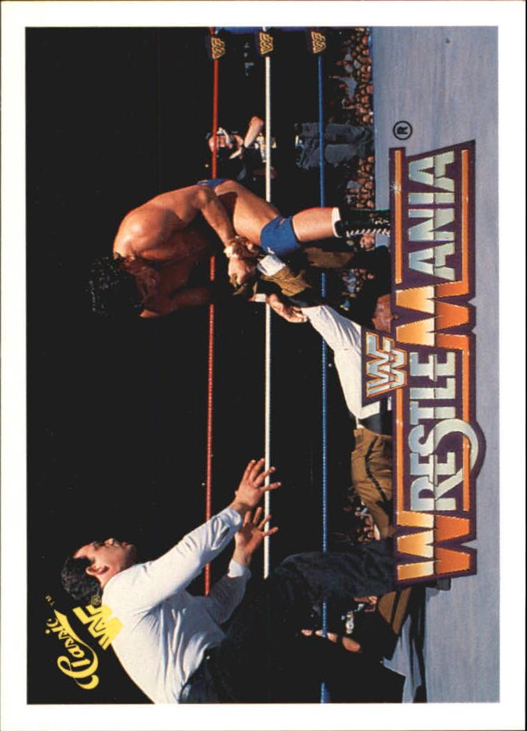 1990 Classic The History of Wrestlemania WWF #22 Slick/Tito Santana