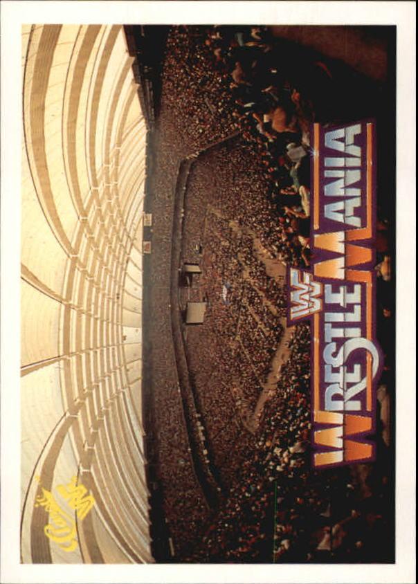 1990 Classic The History of Wrestlemania WWF #23 Stadium Scene