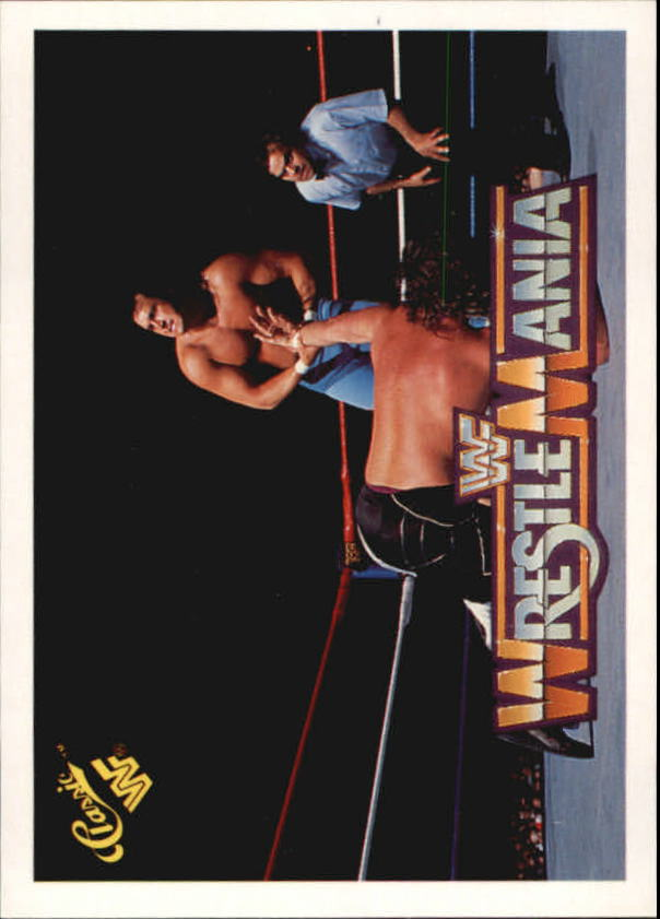 1990 Classic The History of Wrestlemania WWF #24 Honky Tonk Man/Jake The Snake Roberts