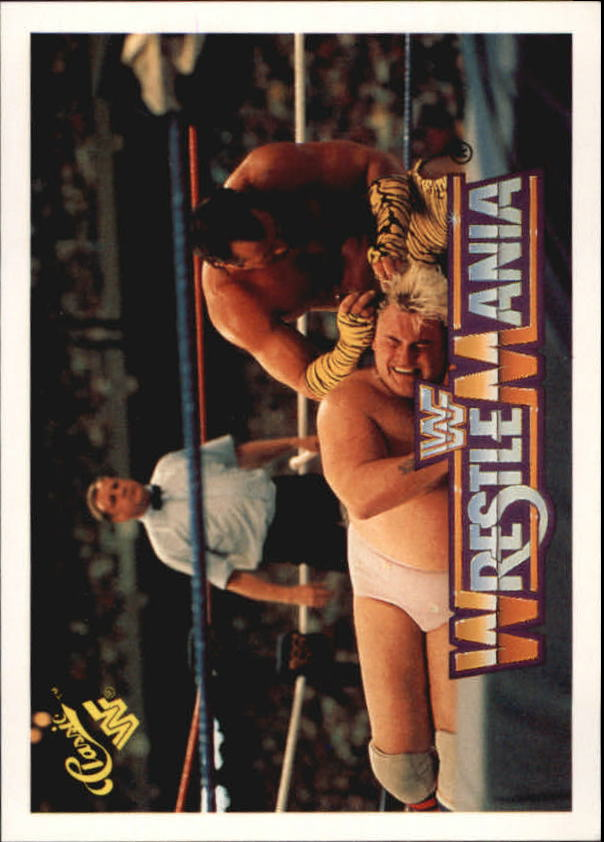 1990 Classic The History of Wrestlemania WWF #25 Brutus The Barber Beefcake/Adrian Adonis