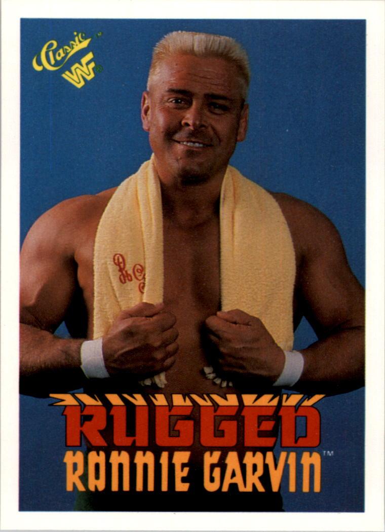 Superb 1990 Classic WWF #89 Rugged Ronnie Garvin ...