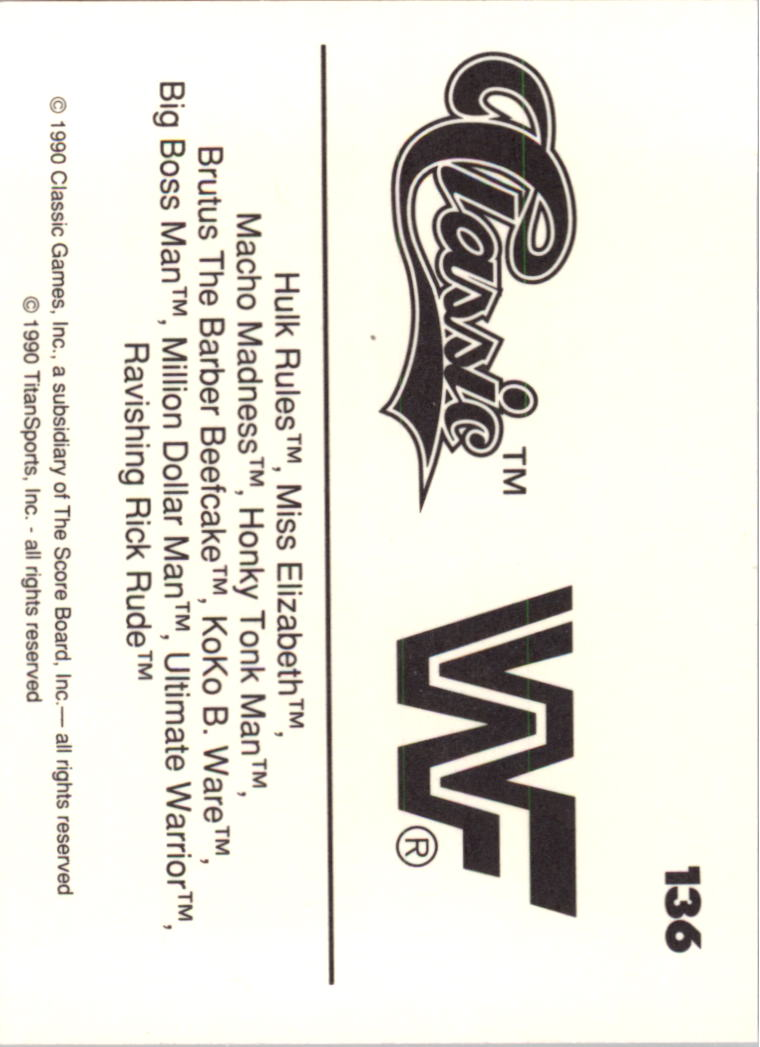 1990-Classic-WWF-Wrestling-Card-s-1-145-You-Pick-Buy-10-cards-FREE-SHIP thumbnail 243