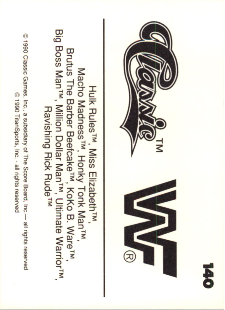 1990-Classic-WWF-Wrestling-Card-s-1-145-You-Pick-Buy-10-cards-FREE-SHIP thumbnail 249