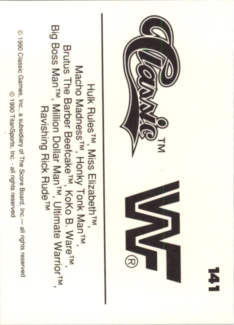 1990-Classic-WWF-Wrestling-Card-s-1-145-You-Pick-Buy-10-cards-FREE-SHIP thumbnail 251