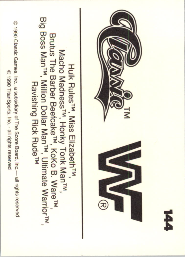 1990-Classic-WWF-Wrestling-Card-s-1-145-You-Pick-Buy-10-cards-FREE-SHIP thumbnail 255