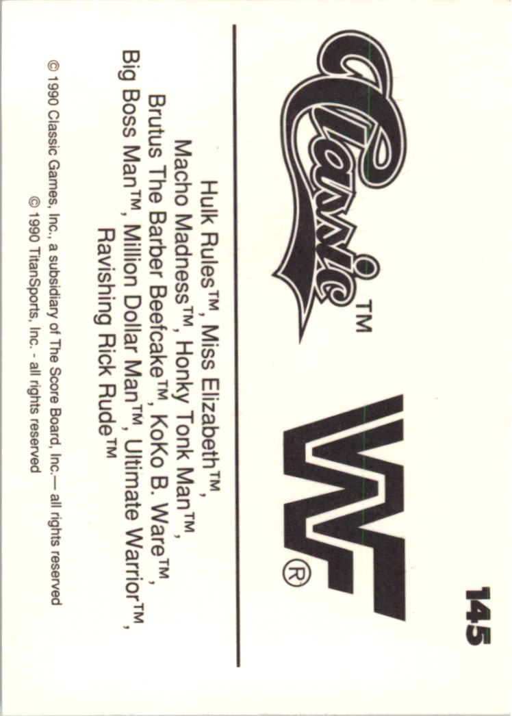 1990-Classic-WWF-Wrestling-Card-s-1-145-You-Pick-Buy-10-cards-FREE-SHIP thumbnail 257
