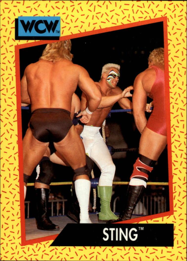 1991 Impel WCW #1 Sting