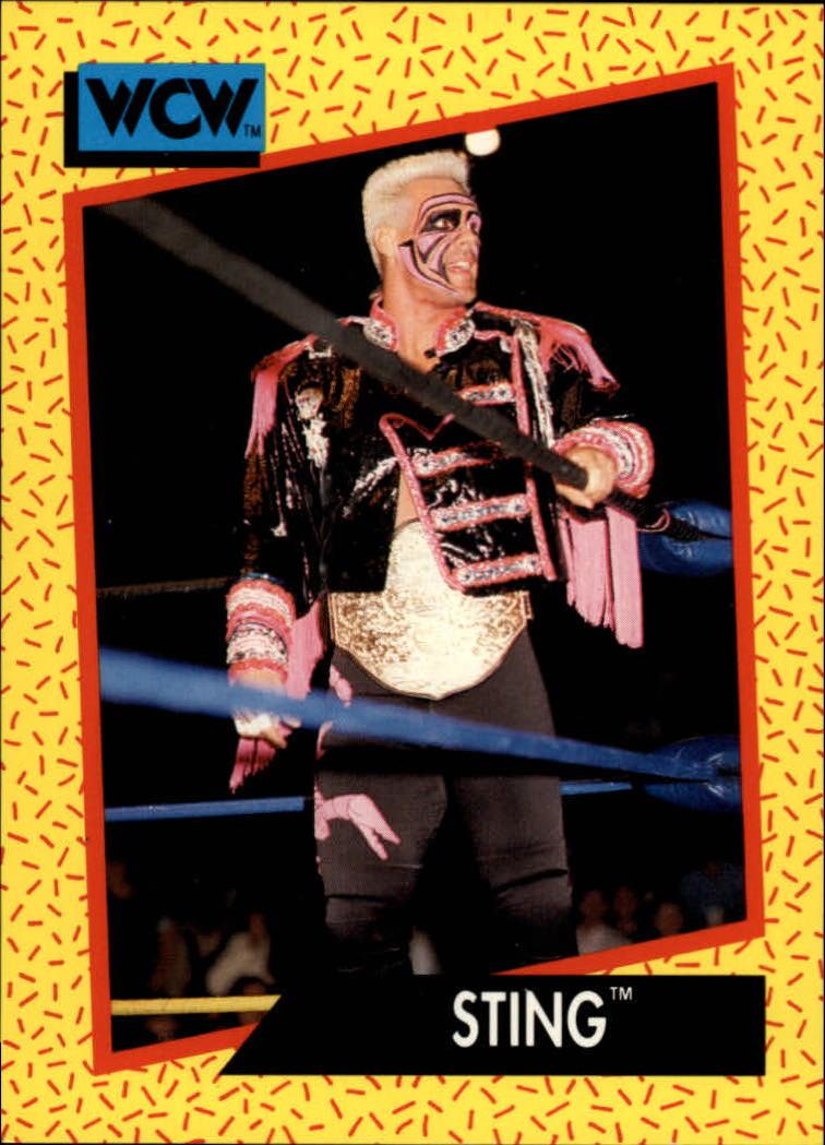 1991 Impel WCW #4 Sting