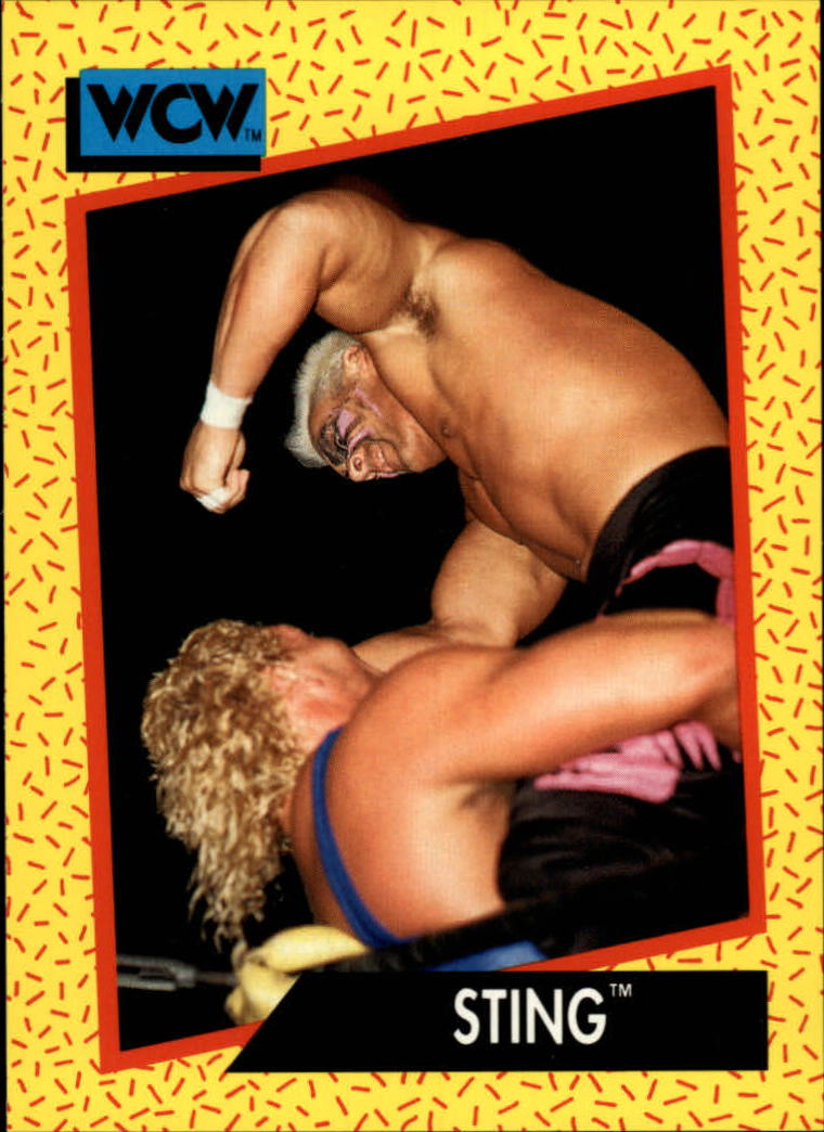 1991 Impel WCW #5 Sting