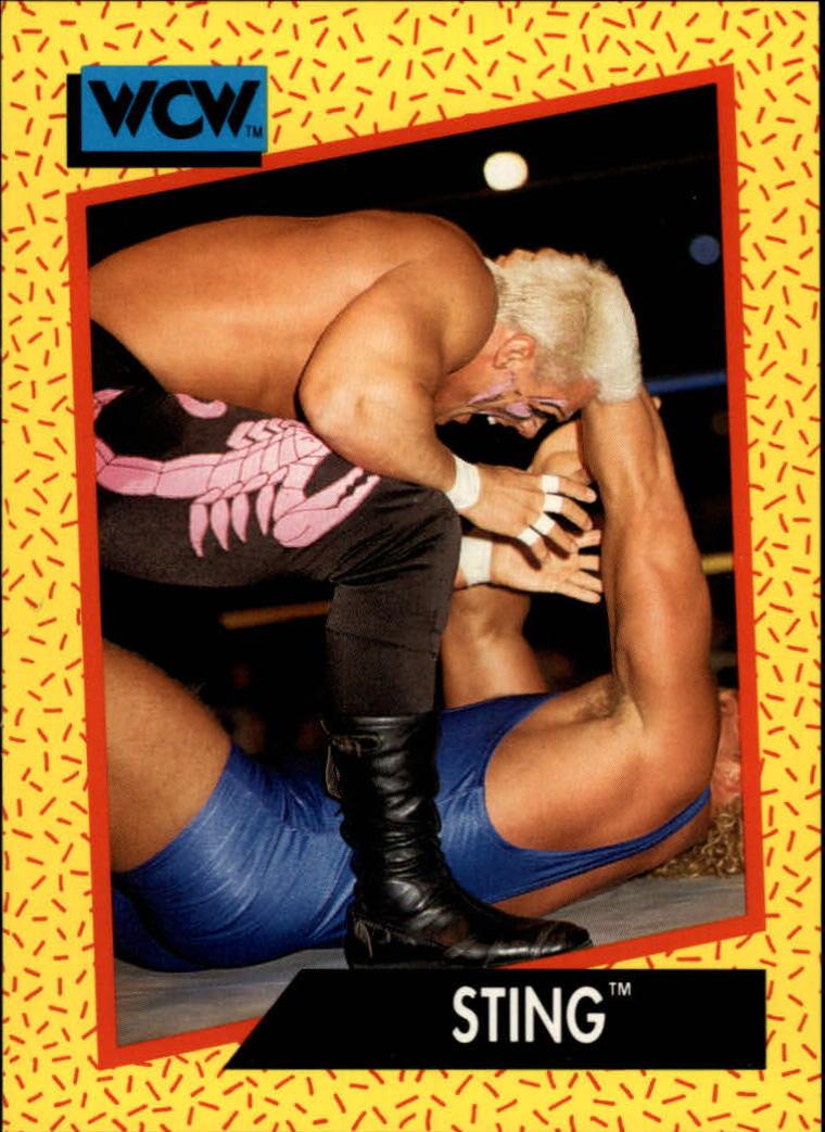1991 Impel WCW #6 Sting