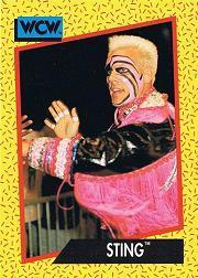 1991 Impel WCW #12 Sting