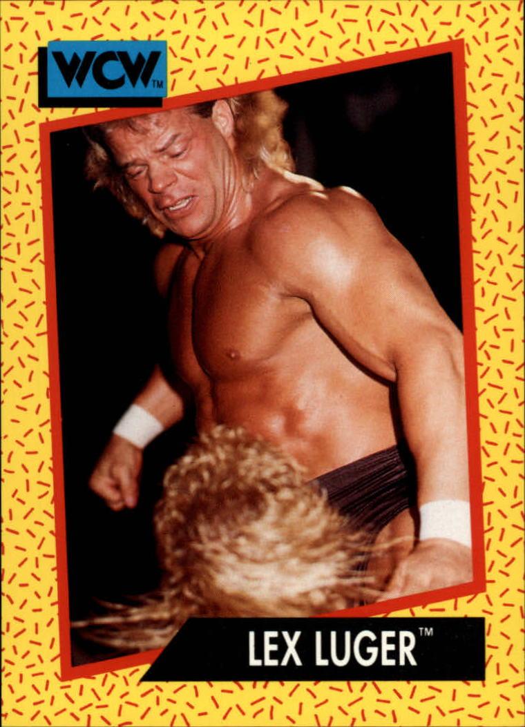 1991 Impel WCW #15 Lex Luger