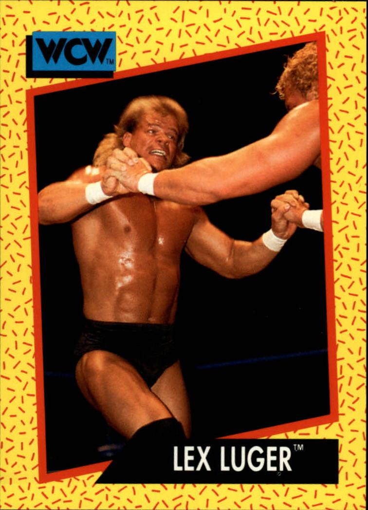 1991 Impel WCW #17 Lex Luger