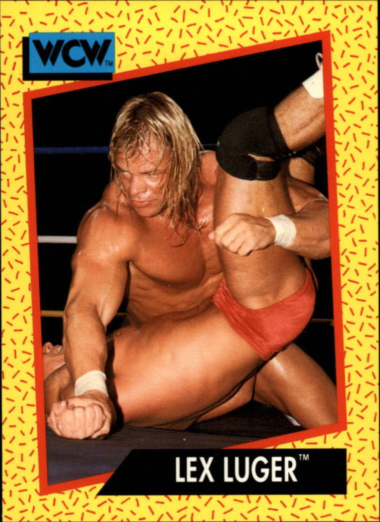 1991 Impel WCW #18 Lex Luger