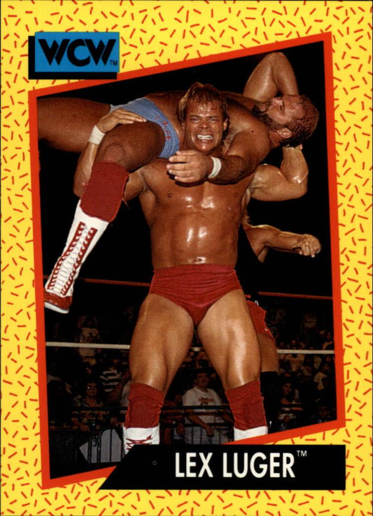 1991 Impel WCW #19 Lex Luger