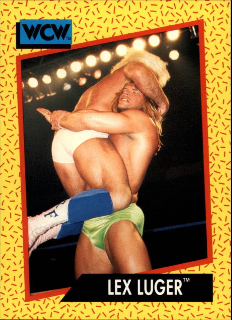 1991 Impel WCW #21 Lex Luger