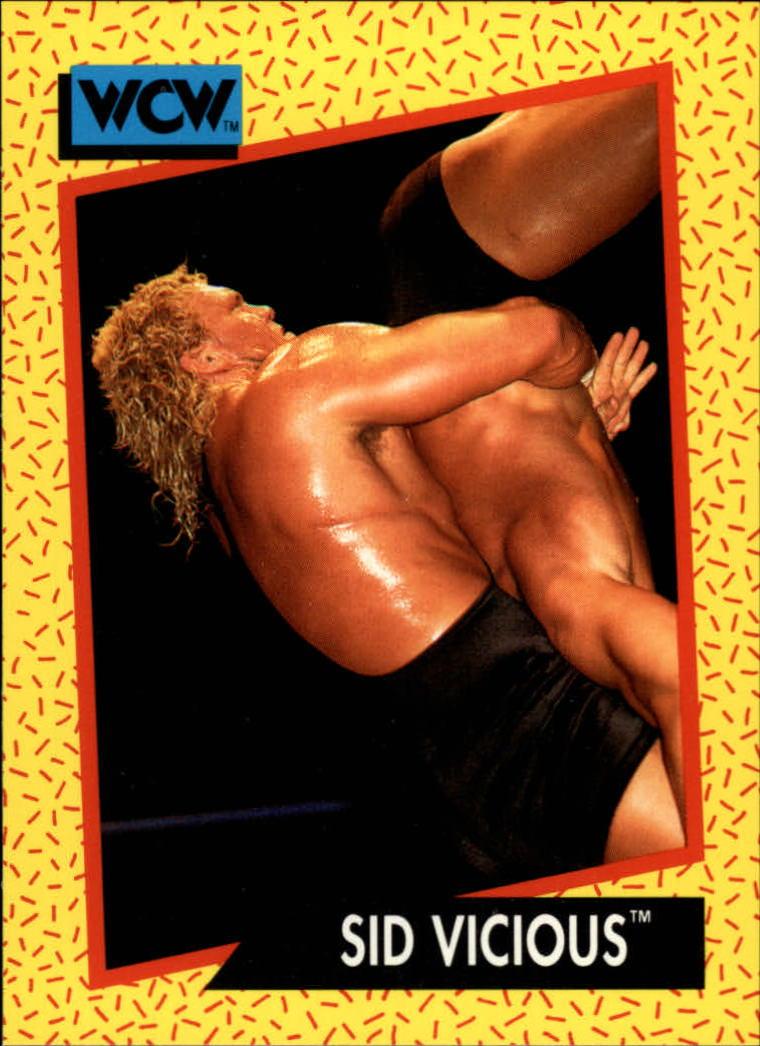1991 Impel WCW #25 Sid Vicious
