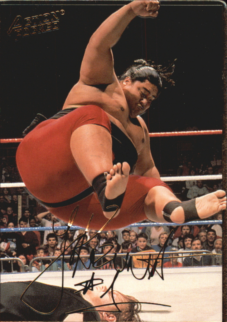 1994 Action Packed WWF #8 Yokozuna