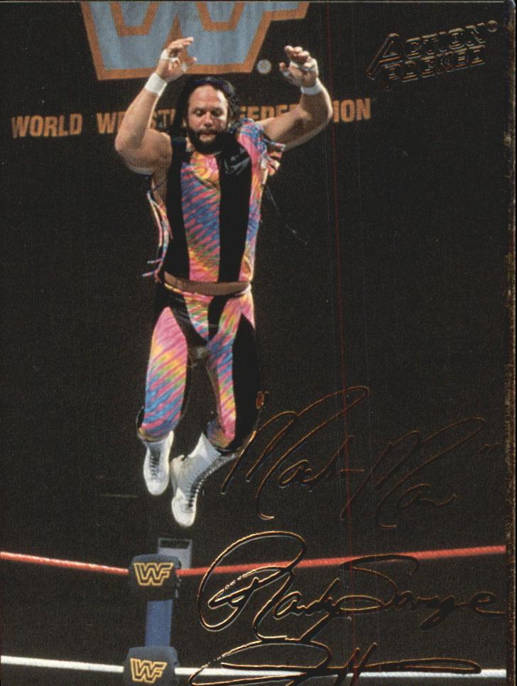 1994 Action Packed WWF #13 Macho Man Randy Savage