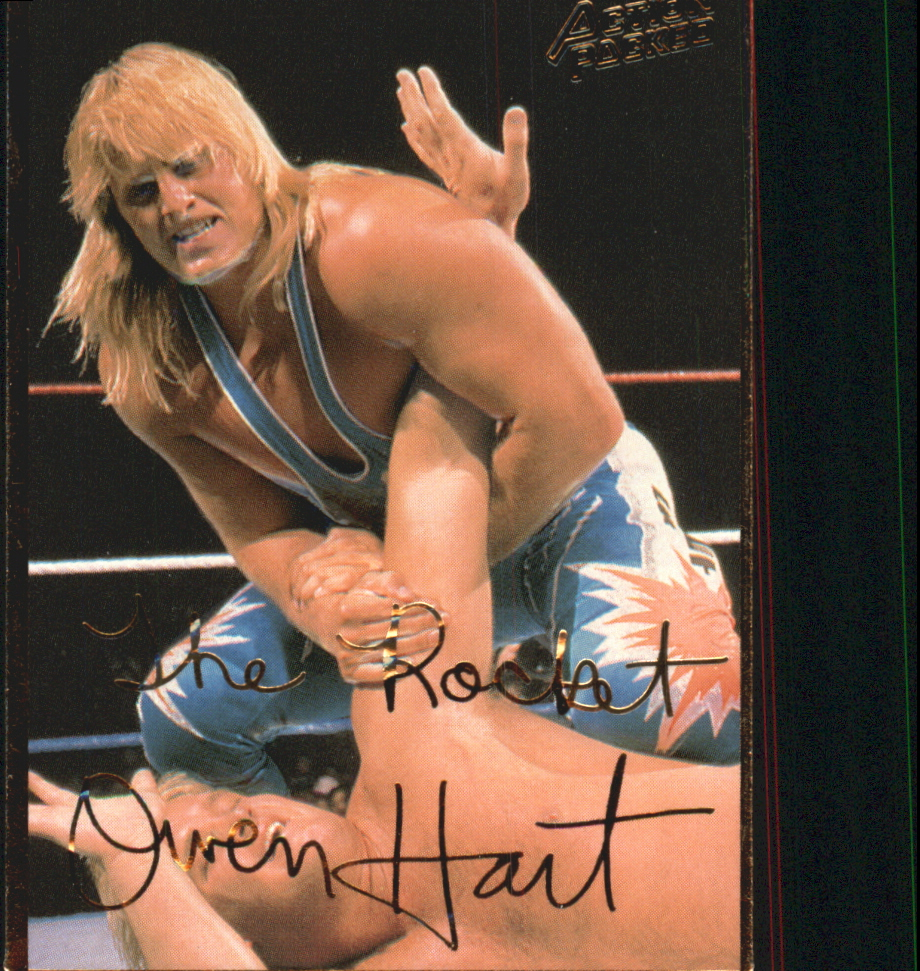 1994 Action Packed WWF #18 Owen Hart