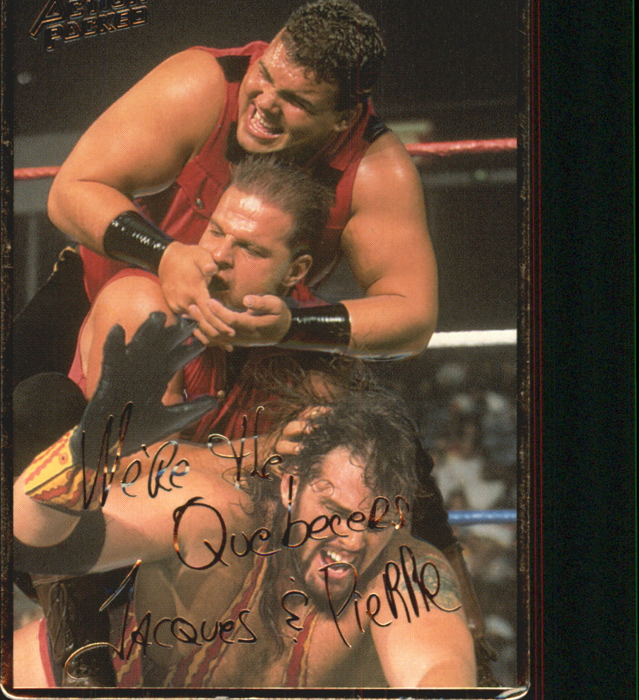 1994 Action Packed WWF #21 Quebeckers