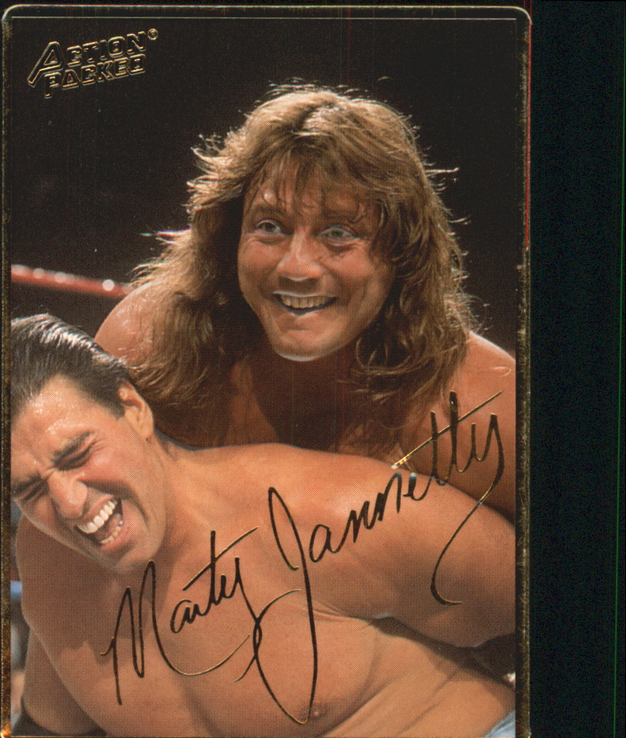 1994 Action Packed WWF #22 Marty Jannetty