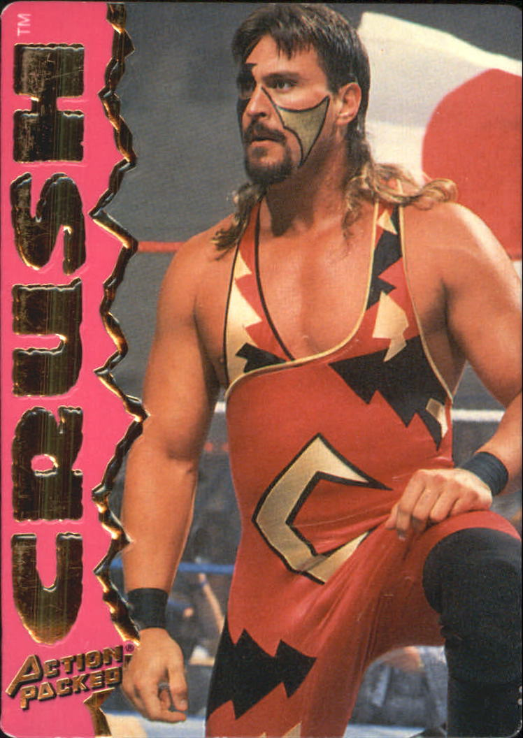 1995 Action Packed WWF #12 Crush